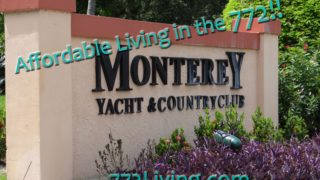 Front Entry Sign at Monterey Yacht & Country Club